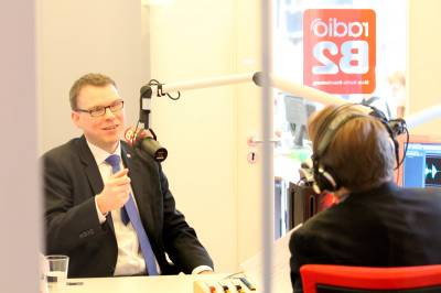 Interview bei Radio B2 - Interview bei Radio B2